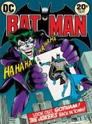 Dc Comics 60 x 80 cm Batman the Joker Is Back in Town Canvas