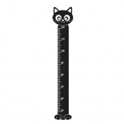 Supertogether Cat Childrens Growth Height Chart Bedroom Wall Sticker