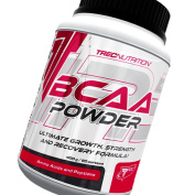 Strong BCAA Powder 200g - Branched Chain Amino Acids - Muscle Building and Recovery Powder - Trec Nutrition