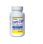 Ivory Caps Skin Whitening Lightening Pill Glutathion MAX 1500MG