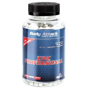 Body Attack Zinc Professional -180 - Pack of 180 Capsules