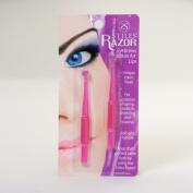 Stiles Narrow Blade Eyebrow Razor - Twin Pack