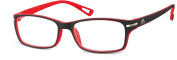 Montana MR90D +2.00 Black and Red Reading Glasses