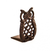 Rustic Vintage Cast Iron Owl Shaped Decorative Window Door Wedge Stop Stopper