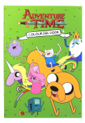 Anker Adventure Time Colouring Book