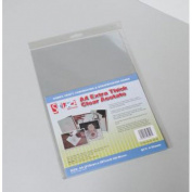 Stix2 Extra Thick Clear Acetate Sheets, A4, pk of 4