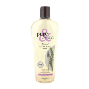 New - Pure and Basic Natural Bath and Body Wash Lavender Rosemary - 350ml
