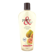 New - Pure and Basic Natural Bath and Body Wash Fresh Fig - 350ml
