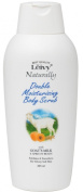 Leivy Naturally Doble Moistursing Body Scrub 325ml - Goat Milk & Apricot Beads