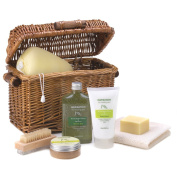 Soothing Spa Bath Basket | Avocado and Lemon Scented