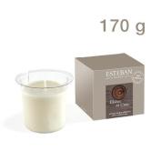 Esteban Ebene et Cuir Decorative Candle Refill 160ml