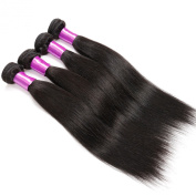Virgin Human Hair, Queen Star Hair Professional 100% Human Hair Weave Malaysian Virgin Hair Straight Hair Extension Weft