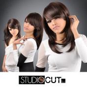 Studio Cut by Pros Synthetic Hair Wig 46cm Feather Razor Cut
