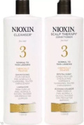 Nioxin System 3 Cleanser & Scalp Therapy Litre Duo