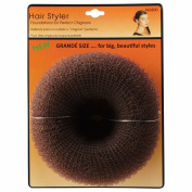 Hair Stylers Brown Grande Chignon