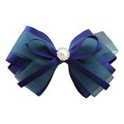Hair Accessories Korean Women Satin Ribbon Bow Hair Clips Barrette Ponytail Holder