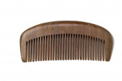 Master Panda® Handmade Natural Green Sandal Wood Hair Comb with Natural Wood Aromatic Scent