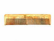 Wood Static-Free Beard and Hair Comb for a Handsome Appearance from Striking Viking - Dual-Sized Bristles for A Premium Brush - Heighten Your Grooming Experience Now!