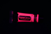 Paint Glow 10ml/34.oz Glow in the Dark Face and Body Paint- Pink