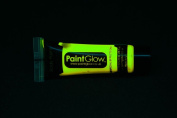 Paint Glow 10ml/34.oz Glow in the Dark Face and Body Paint- Yellow