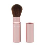 Kinepin Pink Aluminium Retractable Powder Brush Blusher Makeup Brushes Pink