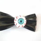 Generic 2Pcs PVC Eyeball Blood Eye Devil Bowknot Hair Clip Horror Cosplay Hairpin Décor