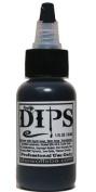 Face Painting Makeup - ProAiir Waterproof Brush On DIPS - 1 oz (30ml) Black
