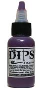 Face Painting Makeup - ProAiir Waterproof Brush On DIPS - 1 oz (30ml) Plumberry
