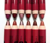 J.cat Beauty the Big Jumbo Lip Pencil Liner All 12 Colours