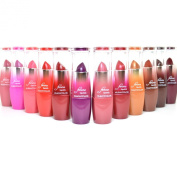 FULL 12 KLEANCOLOR FEMME LIPSTICK ASSORTED colour LIPSTICKS PINK RED GOLD 12LIP01 + FREE EARRING