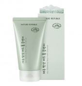 Nature Republic Jeju Sparkling Mud Foam Cleanser, 150ml