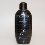 John Abate Titanium Vitamin & Oxygen Fueled Tanning Acceleration Lotion - 240ml