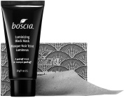 Boscia Pore-Purifying Duo Set with Luminizing Black Mask 30ml and Black Charcoal Blotting Linens 100 Count