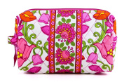 Vera Bradley Medium Cosmetic in Lilli Bell