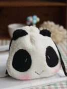 Plush Cute Panda Drawstring Storage Hand Bag Cosmetic Makeup Bag Pen Case