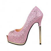 Wotefusi Women's High Heels Pumps Shoes 13.5CM