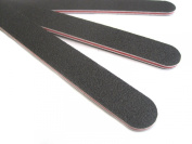 JOVANA Black Board Nail File Manicure Tool 100/180 Grit -3 Pack