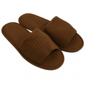 Waffle Open Toe Unisex Slippers By CottonAge