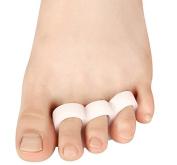 Cerkos Small Gel Toe Separators Toe Protectors Spacers Straighteners