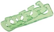 PROLINC Spa Gel Toe Separators, Green,