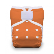 Thirsties One Size Hook and Loop Pocket Nappy, Mango