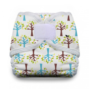 Thirsties Nappy Cover with Hook and Loop, Blackbird, X-Small