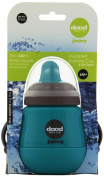 Joovy Dood Sippy Cup Plus Insulator, Turquoise, 210ml