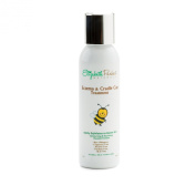 Eczema & Cradle Cap Treatment - Natural & Organic Gentle Exfoliator -For Sensitive Skin - No Salt, Sugar or Nutshells - 120ml