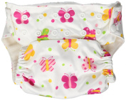Imagine Baby Products Stay Dry All-In-One Nappy, Flutter