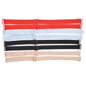 KLOUD City® Assorted Colours Replacement Adjustable Bra Shoulder Strap/Lingerie Clip Strap/Women Bra Strap