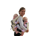 Stuff 4 Multiples Twingaroo Twin Carrier, Khaki