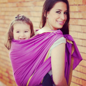 Woven Wrap Baby Carrier for Infants and Toddlers