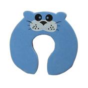 Gaorui 5 PCs Child kids Baby Animal Cartoon Jammers Stop Door stopper holder lock Safety Guard Finger Protect_Blue cat
