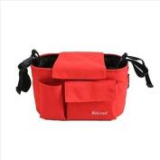 Bitcool Baby Stroller Bag Organiser Red